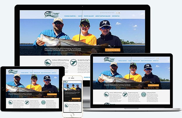 Mobile Friendly Charter Fishing Websites